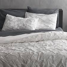 Black And White King Bedding Melyssa White Bedding Cb2