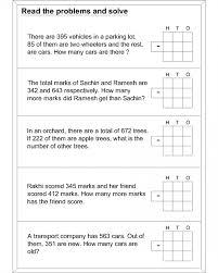 Std 2 Maths Worksheets Splendid Math Subtraction Worksheets For Kids Word Problem 3rd