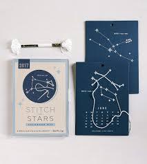 2017 stitch the stars calendar kit home crafting u0026 diy heather