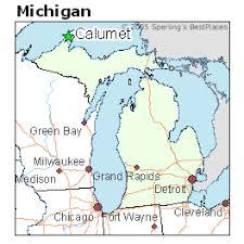 map of calumet michigan best places to live in calumet michigan