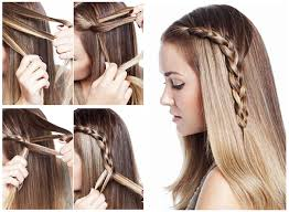 hairstyles for medium length hair with braids fashionable braid hairstyle for shoulder length hair
