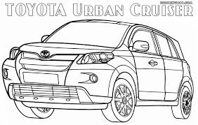 toyota coloring pages coloring pages to download and print