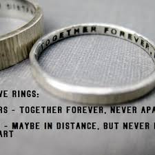 wedding quotes ring best personalized promise ring products on wanelo