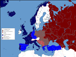 Cold War Europe Map by Cw U0027s European History Atlas Alternate History Discussion