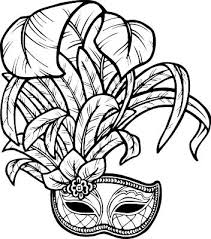 black and white mardi gras masks mardi gras drawings clipart cliparting