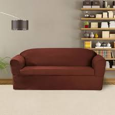 2 Piece T Cushion Loveseat Slipcover Buy Slipcovers T Cushion From Bed Bath U0026 Beyond