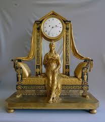Mantel Clocks Antique Extraordinary Antique French Empire Mantel Clock Of Madame