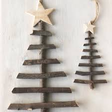 twig tree decorations rustic style trees