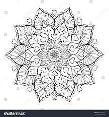 flowers hearts coloring pages free coloring pages