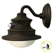 Outdoor Light Fixtures With Motion Sensor Solar Barn Light With Motion Sensor Gs 122pir Gamasonic Solar