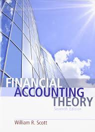 financial accounting theory 7th edition william r scott