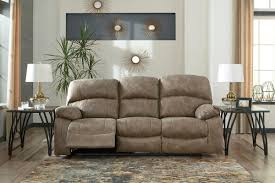 the dunwell driftwood power reclining sofa with adjustable