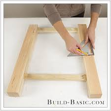 How To Build End Table Plans by Build A Diy Side Table U2039 Build Basic