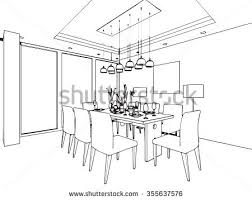 home design surprising drawing dining room mesmerizing designs