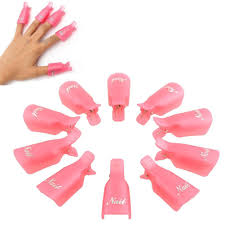 amazon com professional 10pcs durable reusable plastic nail art
