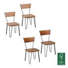 Esszimmerst Le Leder Retro Esszimmerstühle Und Andere Stühle Von Finebuy Online Kaufen Bei