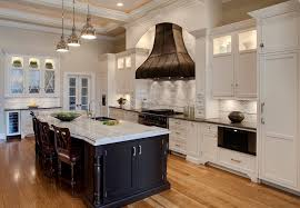 granite blue pearl kitchen traditional with dark stained cherry