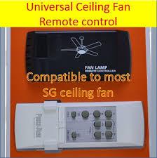 universal ceiling fan remote control replacement qoo10 universal ceiling fan remote control posco peak diy remote