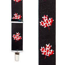 American Flag Suspenders Canada Flag Suspenders Suspenderstore