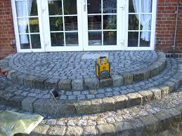 treppe naturstein naturstein granit terrasse treppe