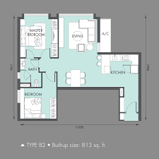 Icon Floor Plan by Icon City U2013 Icon Residenz 2