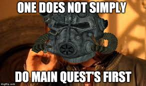 Funny Fallout Memes - fallout logic imgflip