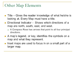 what is a map legend chapter 1 1 the study of geography ppt