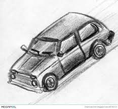toy car sketch illustration 46169121 megapixl