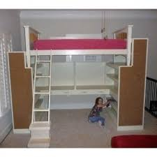 How To Make A Loft Bed With Desk Underneath by Top Bunk Bed With Desk Underneath Foter
