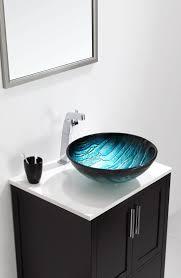 Glass Bathroom Vanity Tops by Bathroom Sink Bathroom Vanity Cabinets Low Profile Vessel Sink