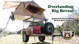jeep wrangler overland tent overlanding rig unveiling smittybilt rooftop tent u0026 morris mule