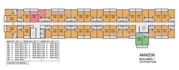 Condominium Plans Floor Plans Building 1 Floor 4 Amazon Residence Condominium