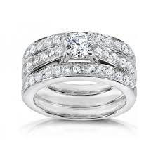 trio wedding sets engagement rings trio wedding sets carat diamond trio wedding ring