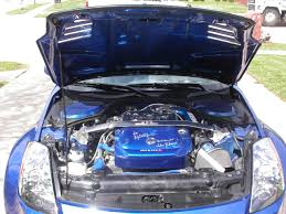 Nissan 350z Horsepower - engine bay