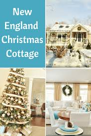 new england cottage house plans a new england cottage christmas in hues of sand and blue beach