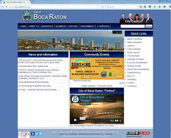 Boca Raton Map A New Year Means More Additions To Boca Raton U0027s Virtual City Hall
