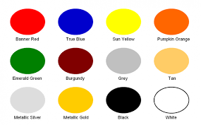 knight mfg paint color chart