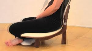 basho meditation chair how to use chair and backrest youtube