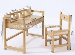 Writing Desk For Kids Kids Study Table Set Wooden Kids Desk For Homework Reading And