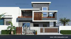 top home design 2016 3d front elevation com 10 marla contemporary house design 2016
