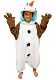 olaf costume kids olaf pajama costume