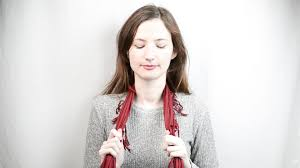 ways to wear short scarf for a more fashionable look how to tie a silk scarf with pictures wikihow