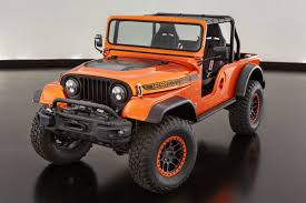 jeep wrangler hellcat jeep easter safari concepts including hellcat powered trailcat
