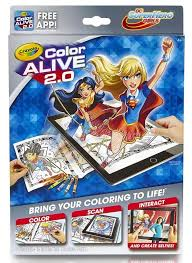 crayola color color alive 2 0 toy at mighty ape nz