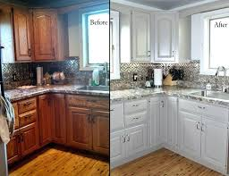 kitchen cabinet refinishing before and after refinish kitchen cabinet white