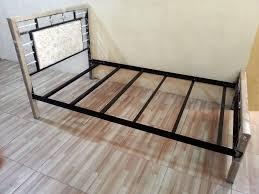 Tempat Tidur Besi Lipat ranjang kasur atau bed frame tanah air furniture