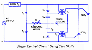 scr applications electronic circuits and diagram electronics