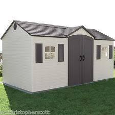 Backyard Storage Units Lifetime 8x6 5 Outdoor Storage Shed Kit 60179 Ebay