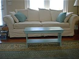 if i have really low couches is it ok to get a coffee table that