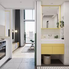 Yellow In Interior Design Best 25 Scandinavian Bathroom Accessories Ideas On Pinterest
